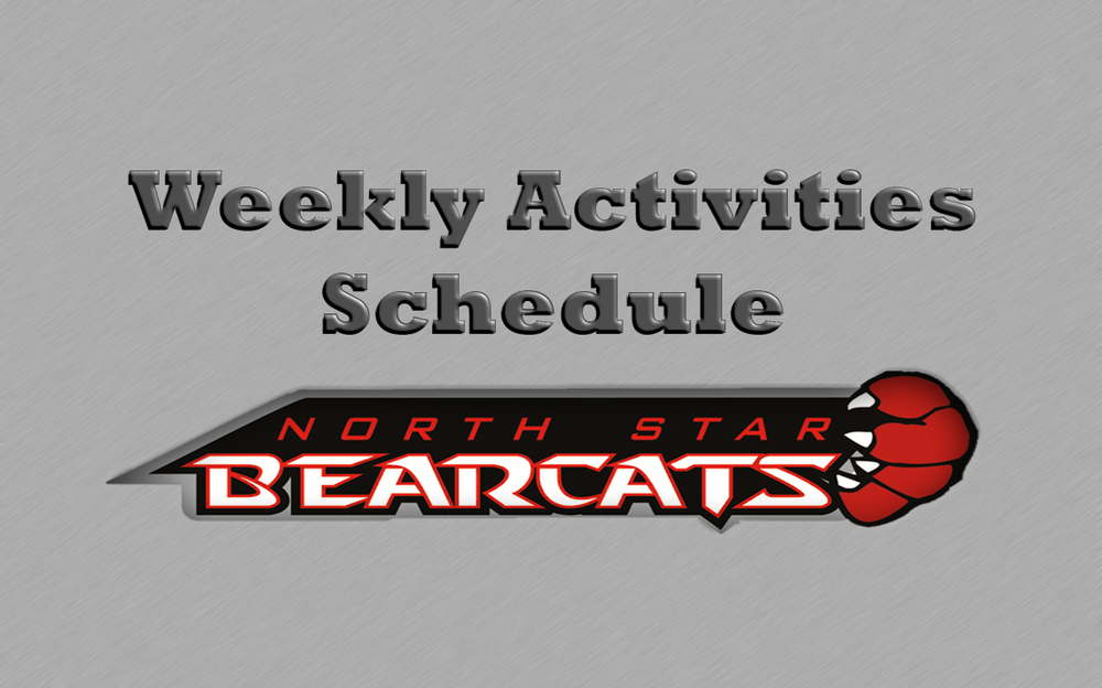 Weekly Activities (March 15-21)